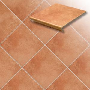 Напольная клинкерная плитка Euramic Cadra E 523 cotto, 294*294*8 мм