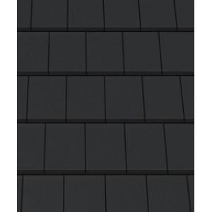 Керамическая черепица CREATON Domino Nuance , черный матовый ангоб