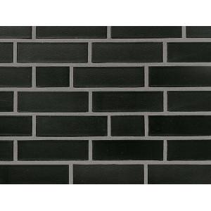 Клинкерная плитка Roben Faro schwarz-nuanciert, glatt, NF9 240x9x71 мм