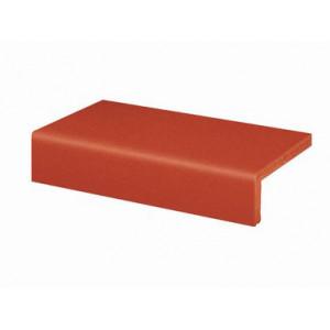 Клинкерная ступень прямая Euramic CLASSICS E 361 naturrot, 4822, 240*115*52*10 мм