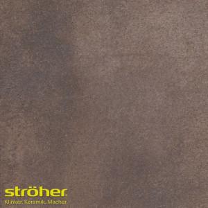Клинкерная напольная плитка Stroeher AERA T 712 marone 30x30, 294*294*10 мм