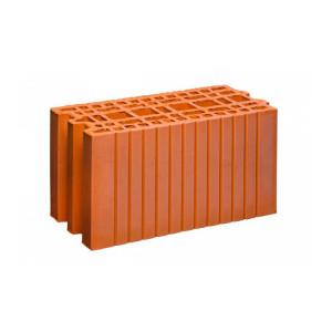 Крупноформатный керамический блок 20 Гжель 9 НФ, 200x400x219 мм