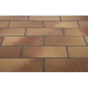 Тротуарная клинкерная плитка Stroeher 307 weizengelb, 240*115*18 мм