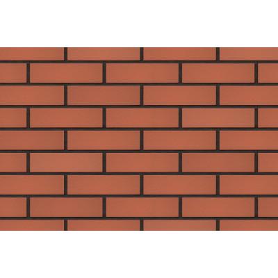 Плитка для вентилируемого фасада King Klinker 01 Ruby-red без затирки, 287*84*22 мм
