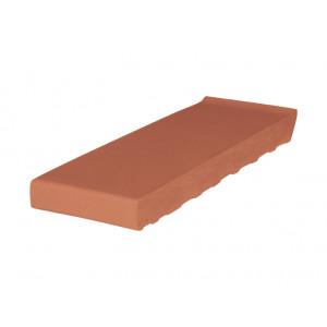 Клинкерный подоконник King Klinker Титан красный, 160*105*28 мм