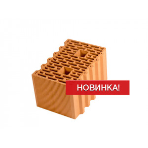 Крупноформатный керамический блок Porotherm 38 GL, М100, 380*250*219 мм