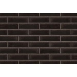 Глазурованная клинкерная плитка King Klinker 17 Onyx black, RF 250х65x10 мм
