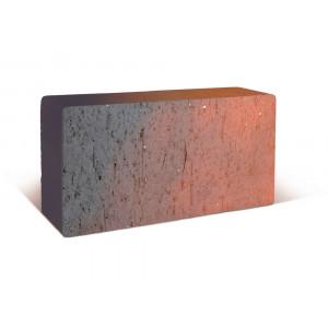 Тротуарный клинкер ЛСР (Россия) тёмно-красный, флэшинг Глазго, 0.51NF 200*100*50 мм