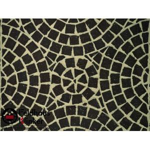 Клинкерная брусчатка мозаика Feldhaus Klinker M502DF umbra plano, DF (мозаика) 240*118*52 мм