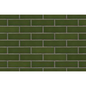 Плитка для вентилируемого фасада King Klinker 24 Green valley без затирки, 287*84*22 мм