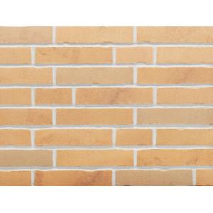 Клинкерная фасадная плитка Stroeher Handstrich 390 champagnersalz, арт. 7650, DF14 240x52x14 мм