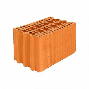 Крупноформатный керамический блок Porotherm 25М улучшенный, М100, 250*375*219 мм