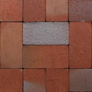 Клинкерная брусчатка Roben Altona vulcan-bunt, ungefast, 240*118*52 мм