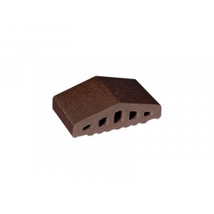 Профильный кирпич King Klinker Коричневый глазурованный (02) Brown-glazed, 310/250*100*78 мм