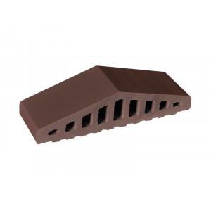 Профильный кирпич King Klinker Коричневый натуральный (03) Natural brown, 310/250*100*78 мм