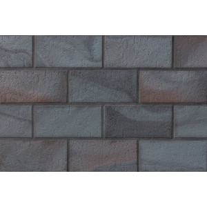 Тротуарная клинкерная плитка Stroeher 336 metallic schwarz, 240*115*18 мм