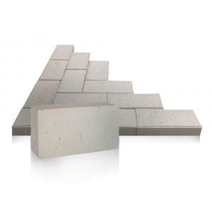 Тротуарный клинкер ЛСР (Россия) серый, Стокгольм, 0.51NF 200*100*50 мм
