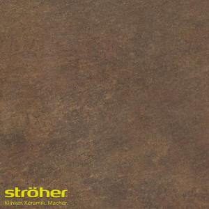 Клинкерная напольная плитка Stroeher ASAR 640 maro 30x30, 294*294*10 мм