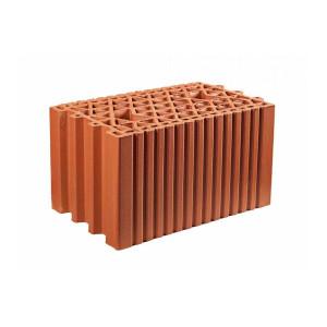 Крупноформатный керамический блок 25 Гжель 10,7 НФ, 250x380x219 мм