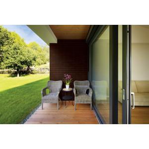 Плитка для вентилируемого фасада King Klinker 02 Brown-glazed без затирки, 287*84*22 мм