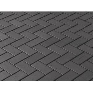 Клинкерная брусчатка Vandersanden Milano O (Tybet Cien), 200*100*45 мм