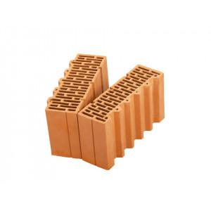 Доборный керамический блок Porotherm 38 1/2, М100, 380*250*219 мм