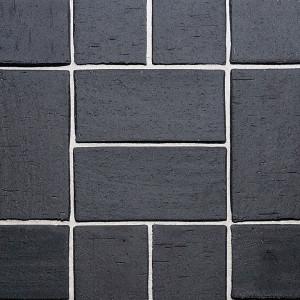 Клинкерная брусчатка Roben Schwabing schwarz-nuanciert, gefast, 200*100*40 мм