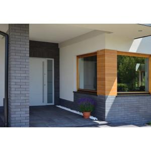 Плитка для вентилируемого фасада King Klinker 12 Misty morning без затирки, 287*84*22 мм