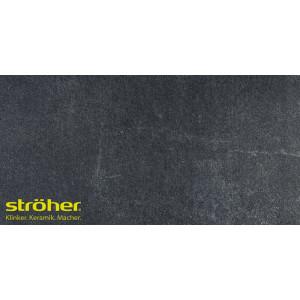 Клинкерная напольная плитка Stroeher AERA T 717 anthra 30x30, 294*294*10 мм