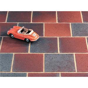 Клинкерная брусчатка Kerawil Rot-Blau-Bunt 5 серия Classic, 200*200*52 мм