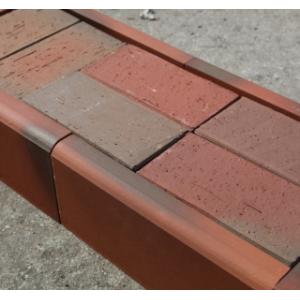 Клинкерный бордюр графит 305*130*37 мм