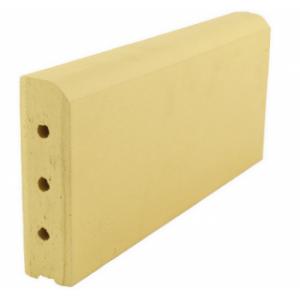 Клинкерный бордюр желтый 305*130*37 мм