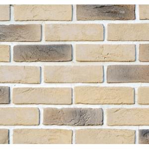 Фасадный облицовочный декоративный кирпич Кембридж 01-28