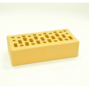 Керамический пустотелый кирпич Соломенный гладкий 250*120*65 мм
