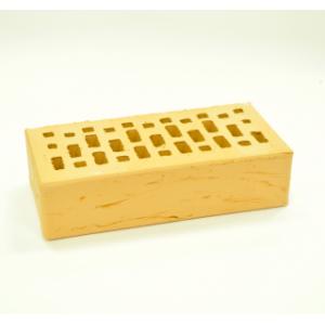 Керамический пустотелый кирпич Соломенный рустик гладкий 250*120*65 мм