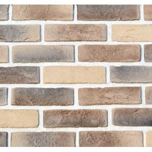 Фасадный облицовочный декоративный кирпич Кембридж 01-29