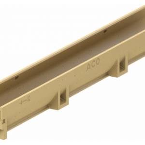 Водоотвод ACO арт 38500 Канал АСО SELF Euroline без решетки (ДхШхВ) 100х11