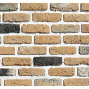 Фасадный облицовочный декоративный кирпич Квебек 13-18