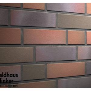 Фасадная термопанель с клинкерной плиткой Feldhaus Klinker R385NF14 40мм с ППУ