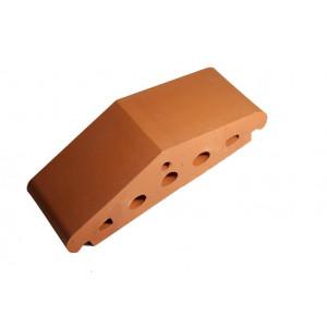 Клинкерный профильный кирпич K25, цвет красный, размер 310*110*85мм