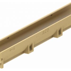 Канал ACO SELF Euroline из полимербетона без решетки (ДхШхВ) 50х11