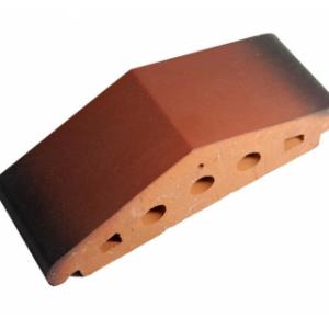 Клинкерный профильный кирпич K25, цвет ольха, размер 310*110*85мм
