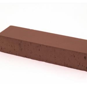 Клинкерная тротуарная брусчатка Lode Brunis коричневый шероховатая 250*45*65 мм