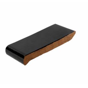 Клинкерный подоконник  темно-коричневый 280