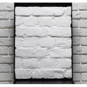 Плитка кирпич White 250-260*70*15 мм