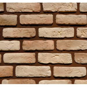 Фасадный облицовочный декоративный кирпич Квебек 01-02