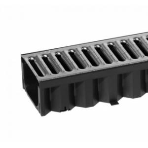 Водоотвод ACO арт 74527 Решетка водоприемная ACO Hexaline стальная оцинкованная 1 м (А15)