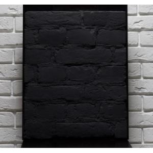 Плитка кирпич Black 250-260*70*15 мм