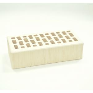 Кирпич белый поверхность тростник 250*120*65
