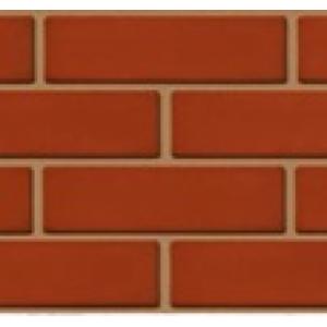 Кирпич лицевой полнотелый красный угловой R60